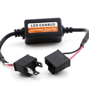 Buy cheap H1 H7 9006 Adapter Flash Error 36V 35W LED Headlight Decoder product