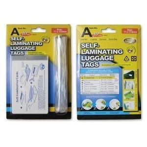 Self sealing laminating pouches