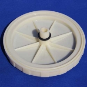 Buy cheap 2m3/h PP body Fine Bubble Arch Type Membrane Disc Diffuser product