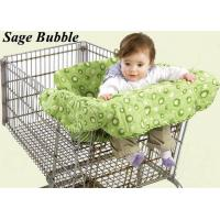 China Baby Shopping Cart Cover,Trolley Seat Cushion--Sage Bubble on sale