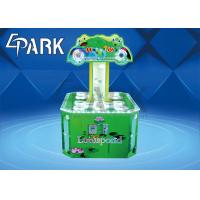 Buy cheap Cartoon Patterns Electronic Kids Coin Operated Game Machine Hit Frog Double Player product