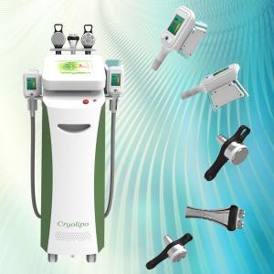 Buy cheap 2015 latest 5 handles Cryo / RF /cavitation best slimming cryo+lipo laser machine product