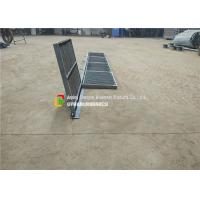 Buy cheap With Angle Bar and Hinges Hot Dipped Galvanized Grating for Sump  Sewer and Drain product
