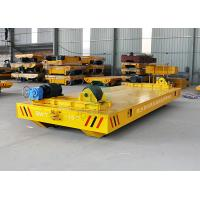 Buy cheap 15 Ton Manufacturing Industry Finish Products Handling Electric Driven Slab Transfer Cart On Railway product