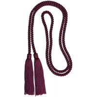 Buy cheap 52 Inches long soft rayon cotton honor cord with 4 inches tassels trimmings on both ends product