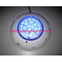China Plastic Underwater Swimming Pool Lights LED Type / Halogen Type For Concrete Pools wholesale