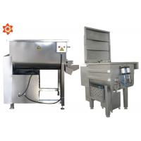 Buy cheap 32 Kg / Time Capacity Commercial Meat Mixer Grinder 70L Barrel Volume product