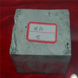 Alliage principal de lingot d'alliage de calcium de magnésium de MgCa