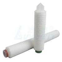 Buy cheap Beverage Filtration 20inch 0.2 Micron Pleated Membrane Filter Cartridge product