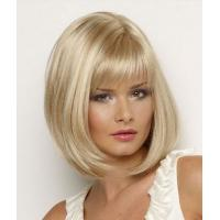 Buy cheap 24 Inch Party Cute Blonde Cosplay Wig / Synthetic Human Hair Wigs for Women product