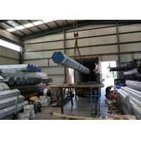 Buy cheap PreGi hot Galvanised Steel Tube with thread / fire Round Steel Pipe with cap product