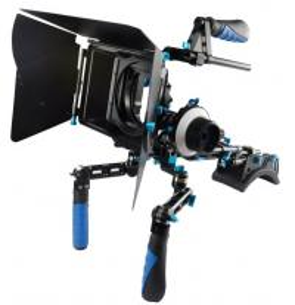 Diy Dslr Camera Rig: Mult-Function Camera Shoulder Rig Mount Kit Matte Box