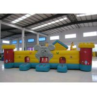 Buy cheap Cute Animal Inflatable Kids Bounce House PVC inflatable house use bouncy Elephant Dog Animals Inflatable Fun House product