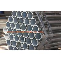 China Round Hot Dip Galvanized Steel Water Pipe , Electronic Fusion Welded EFW Pipe on sale