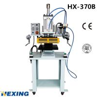 China HX-370B Pneumatic Hot Stamping Machine for Paper Bag,Pneumatic cylinder and components from Airtac brand on sale