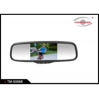 Quality DC 12V Car Rearview Mirror Monitor , Car Reverse Parking Camera With Display  for sale