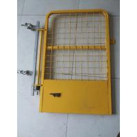 Buy cheap 960mm * 761mm Yellow powder coated safety gate/access gate/swing gate product