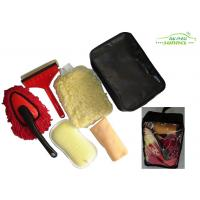 Buy cheap portable 6 Pieces car washing brush kit with Window Eraser / Dust Brush product