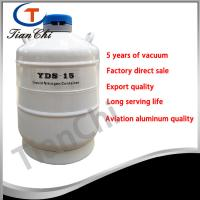 Buy cheap 15L Liquid nitrogen storage container manufacturer 5 years of vacuum product