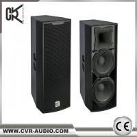 Buy cheap CVR Audio Factory 12 inch pa speaker CV-122CP active plywood enclosure textured Paint product