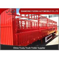 Buy cheap Removable Side Wall Semi Trailer 1800 Mm Fence To Transport Fruit Vegetable product