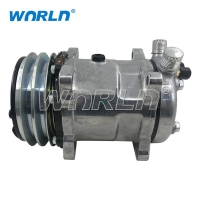 Buy cheap 5H14 Truck Auto  AC Compressor For 508 12V 2A Air Conditioner Pumps product