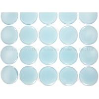 """Buy cheap 1"""" Blue Glow In The Dark Epoxy Adhesive Stickers product"""