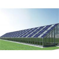 Buy cheap Adjustable Height Greenhouse Solar System Frame Mounting Structure Lightweight product