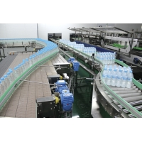 Buy cheap SS304 Industrial Conveyor Systems For Water Bottle Filling Machine product