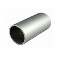 Buy cheap 6063 T5 Aluminum Alloy Round Tube 0D 48mm X 4mm Thickness Silver Anodization product