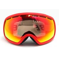 Fashion Ladies Snow Boarding Goggles with PC Lens for Eye Protection