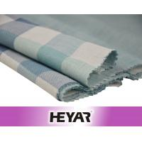 Buy cheap Face Side Checks Reverse Side Solid Double Layer 100 Cotton Check Fabric product