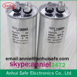 Buy cheap Air Conditioner Dual Run Capacitor 35/5 uf 40/5uf 50/5uf 60/5uf 80/5uf 370 voltage 450voltage high quality product