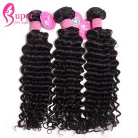 Cheap Prices Unprocessed Brazilian Human Curly Hair Weaving Extensions