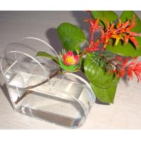 Buy cheap Small acrylic glasses flower display holder product