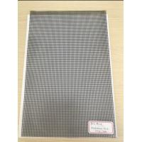 Buy cheap 500D X 500D 9x13 Reinforced PVC Coated Polyester Mesh Black Mesh for Outdoor Fence product