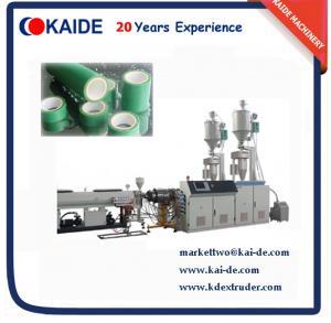 Buy cheap 高速28m/minの機械を作る管3つの層のPPRの product