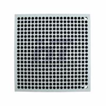 """Buy cheap 610mm 24"""" Steel Grating Stringer Raised Floor Interchangeable For Server Room product"""