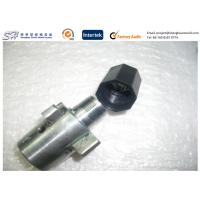 Buy cheap Black ABS Injection Molding Caps With Internal Threads Plastic Moulding Industry Support product