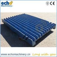 China high manganese BR380 jaw crusher spare parts jaw plate,jaw die on sale