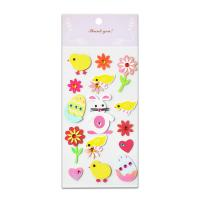 Buy cheap Acrylic Paper Jewel Stickers Rattit Chicken And Egg Lovely Design Handwork 3D from wholesalers