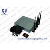 Buy cheap Mobile Phone Remote Control Jammer 10m - 40m Shielding Radius 11W Power product