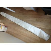 Buy cheap Cement Plant Filter Cloth Bag Polyester PTFE Coated Industrial 130 - 150 Degree from wholesalers