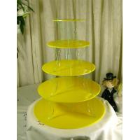 Buy cheap Elegant 3 Tier Acrylic Cupcake Display For Wedding Or Party product