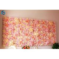 Buy cheap Square Artificial Flower Wall Decor Synthetic Foam Material Easy Maintenance product