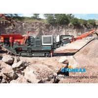 Buy cheap Portable  Mobile Rock Crusher Energy Saving Simple Structure For Aggregate Making product