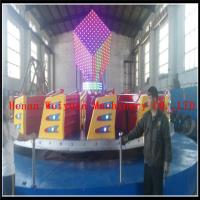Buy cheap Popular Colorful  Kids Amusement Park Games Equipment Ballerina Rides  Fiberglass 24seats Kiddie Hully Gully product