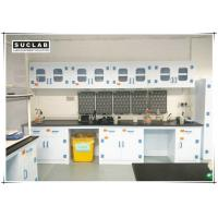Buy cheap Corrosion Resistant Chemical Lab Furniture With PP Countertops And Shelves In Laboratory product