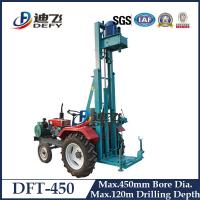 China DFT-450 Tractor Mounted Top-driver Water Well Drill Rig on sale
