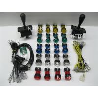 Buy cheap Joystick Pack, 2 Joysticks and 16 Clear illuminated buttonS,2 player USB to Jamme converting board product